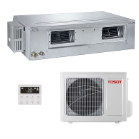 Канальный кондиционер TOSOT TUD71PS/A1-S/TUD71W/A1-S INVERTER (-20C)